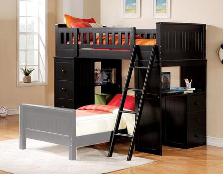 Acme Furniture Willoughby 10980A Bed Black, 1