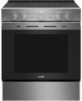 QSS740RNSS 30″ Smart Freestanding Electric Range with 4 Radiant Elements  5.7 cu. ft. Capacity  WiFi Connection and Hidden Bake Element in Stainless