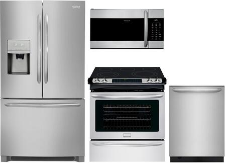 Frigidaire  1133858 Kitchen Appliance Package Stainless Steel, main image