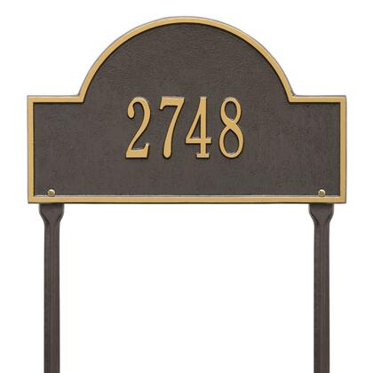 Whitehall Products 1105OG Address Plaques, Main Image