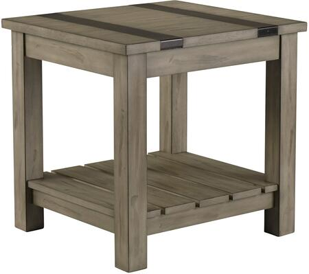 Standard Furniture Nelson 20622 End Table Brown, Main Image