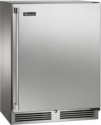 """HH24RO-3-2R 24"""" Signature Series Outdoor Right Hinge Sottile Undercounter Refrigerator with Solid Door 18"""" Depth 2 Wire Racks RAPIDcool Forced-air"""