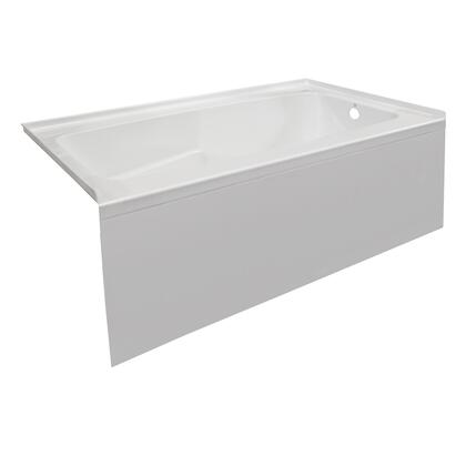 Valley Acrylic Signature Collection PSTARK6030SKRWHT Bath Tub White, Main Image