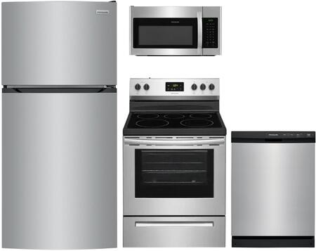 Frigidaire 1222958 Kitchen Appliance Package & Bundle Silver, Main image