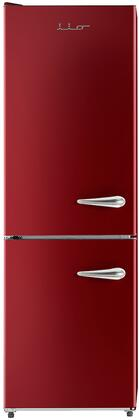 iio  ALBR1372RL Bottom Freezer Refrigerator Red, ALBR1372RL Bottom Freezer Refrigerator
