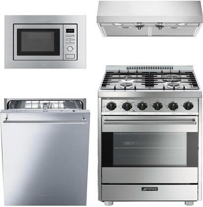 Smeg 890332 Kitchen Appliance Package & Bundle Stainless Steel, main image