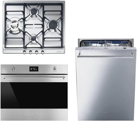 Smeg 890403 Kitchen Appliance Package & Bundle Stainless Steel, main image