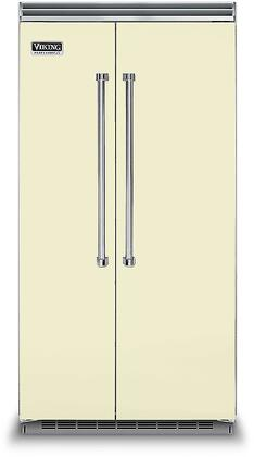 Viking 5 Series VCSB5423VC Side-By-Side Refrigerator Bisque, VCSB5423VC Side-by-Side Refrigerator