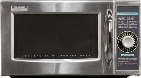 Sharp R21LCFS Commercial Microwave Stainless Steel, Main Image