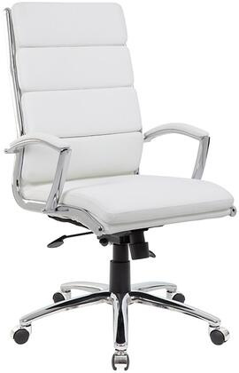 B9471-WT Executive Caressoftplus    Chair With Metal Chrome