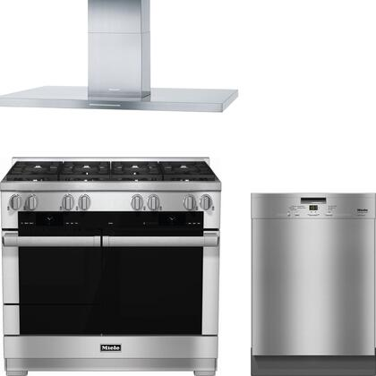 Miele 888318 Kitchen Appliance Package & Bundle Stainless Steel, 1