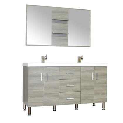 Alya Bath Ripley Collection AT8043GDSS Sink Vanity, 7 1hsf u2