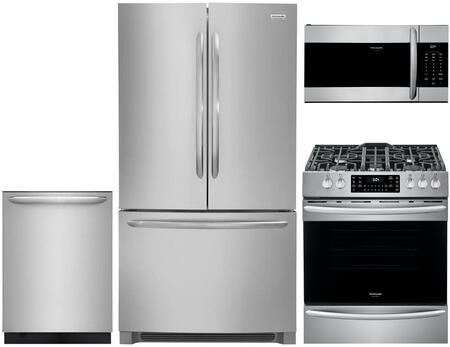 Frigidaire  880642 Kitchen Appliance Package Stainless Steel, main image