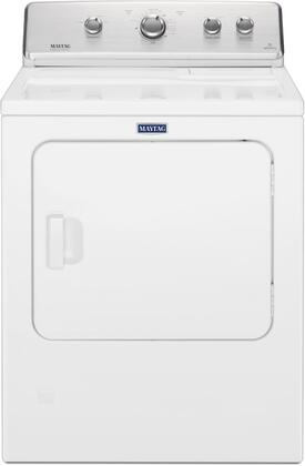 Maytag MGDC465HW 29 Inch Gas Dryer with 7 cu. ft. Capacity, 12 Dry Cycles, 4 Temperature Settings, Wrinkle Prevent Option, IntelliDry Sensor in White