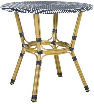 Safavieh Sidford PAT4012A Outdoor Patio Table Blue, pat4012a side