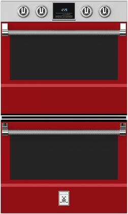 Hestan  KDO30RD Double Wall Oven Red, 1