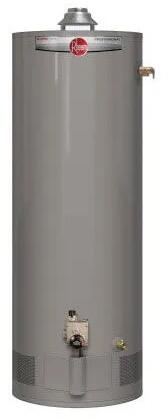 PROG40S-40N RH62 Professional Classic Atmospheric 40 Gallon Natural Gas Water -  Rheem, PROG40S40NRH62