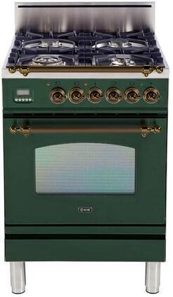 Ilve Nostalgie UPN60VGGVSYLP Freestanding Gas Range, UPN60VGGVSY Nostalgie Gas Range