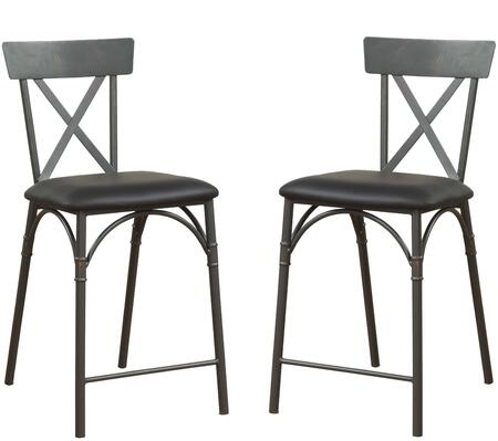 Acme Furniture Itzel 72087 Bar Stool, Counter Height Chair