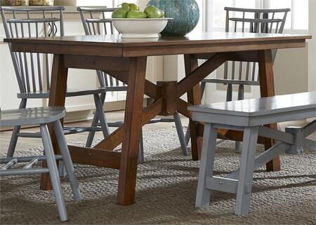 Liberty Furniture Creations II 38T3260 Dining Room Table Brown, Main Image