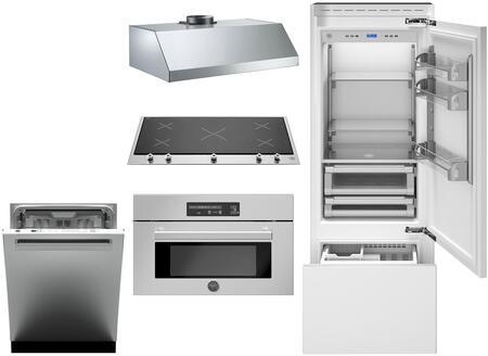 Bertazzoni 1055110 Kitchen Appliance Package & Bundle Panel Ready, main image