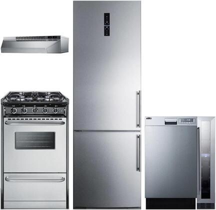 Summit 1114223 Kitchen Appliance Package & Bundle Stainless Steel, main image