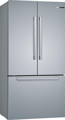 Bosch 800 Series B36CT80SNS French Door Refrigerator Stainless Steel, Main Image