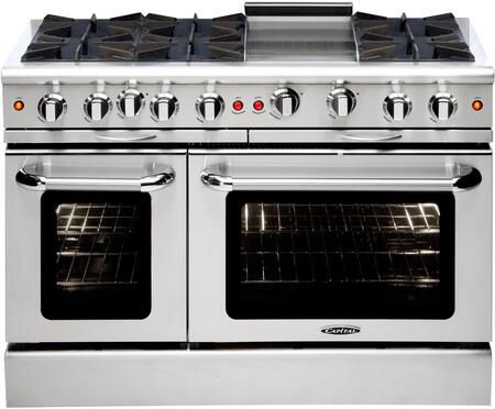 Capital Culinarian MCOR486GN Freestanding Gas Range Stainless Steel, Main Image