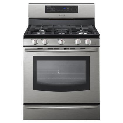 Samsung Appliance  FX710BGS Freestanding Gas Range Stainless Steel, 1