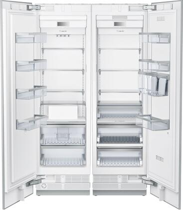 Thermador  849118 Column Refrigerator & Freezer Set Panel Ready, Main Image