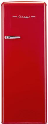 Unique  UGP175LRAC Upright Freezer Red, UGP175LRAC Upgright Freezer