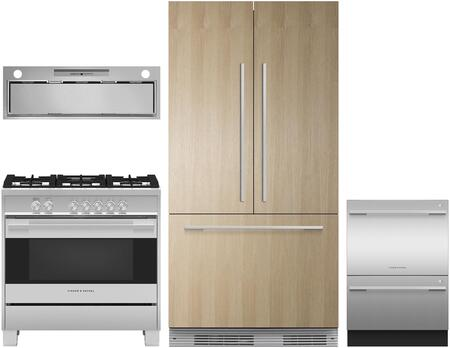 Fisher Paykel 1125159 Kitchen Appliance Package & Bundle Panel Ready, main image