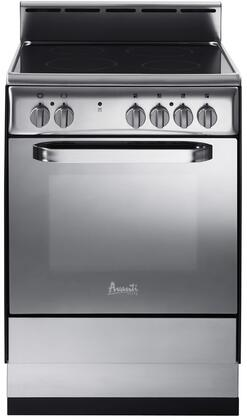 Avanti Elite DER242BS Freestanding Electric Range Stainless Steel, Main Image