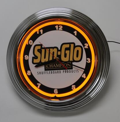 Sunglo 208602 Clock Silver, 1