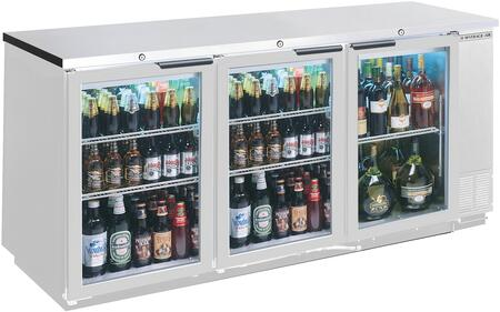 Beverage-Air  BB72HC1FGS Back Bar Cooler Stainless Steel, Main Image