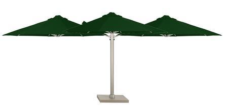 Shadowspec SU6 Series KITP6SQ30TRIOSPOGRNA Outdoor Umbrella Green, Trio Olive Green