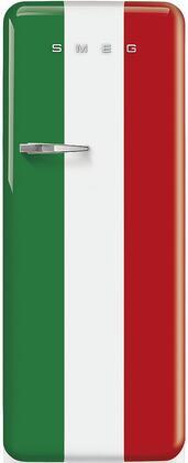 Smeg 50s Retro Style FAB28URDIT3 Top Freezer Refrigerator , FAB28URDIT3 Italian Flag Refrigerator