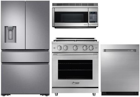 Dacor  1260289 Kitchen Appliance Package Stainless Steel, Main image