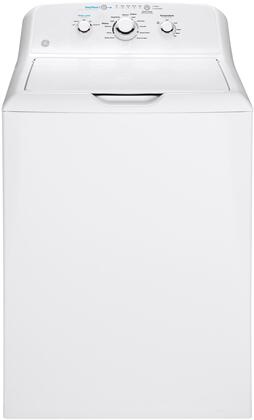 GE  GTW335ASNWW Washer White, Front View