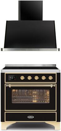 Ilve  1260093 Kitchen Appliance Package Black, Main image