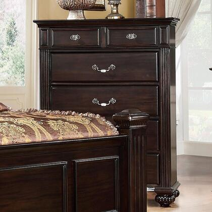 Furniture of America Syracuse CM7129C Chest of Drawer Brown, 1