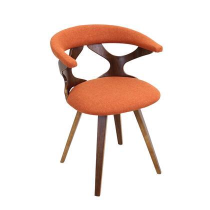 LumiSource Gardena CHGARDWLO Accent Chair Orange, mage 1