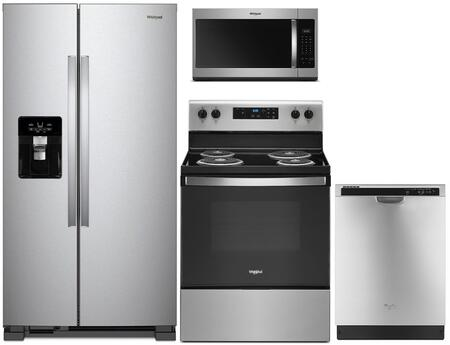 Whirlpool 1125629 Kitchen Appliance Package & Bundle Stainless Steel, main image