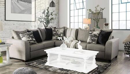 Furniture of America Barnett SM5204GY-SECT Main