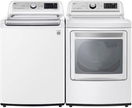 LG  1320916 Washer & Dryer Set White, 1