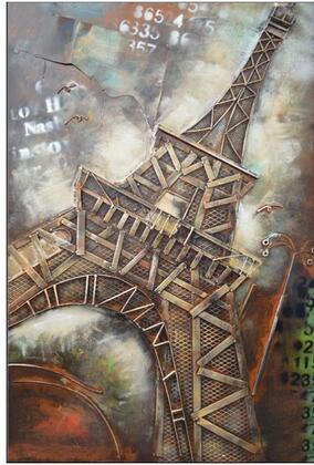 Grako Design  ZHFAM0014 Wall Art Brown, Main Image