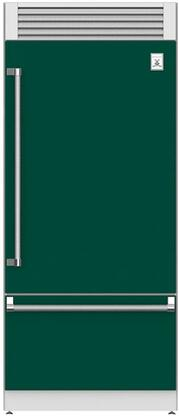 Hestan  KRPR36GR Bottom Freezer Refrigerator Green, Main Image