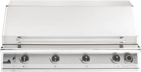 S48TLP 51″ T Series Big Sur Liquid Propane Grill with 90 000 BTU  One Hour Gas Flow Timer  960 sq. in. Cooking Surface and Moon Rok Ceramic