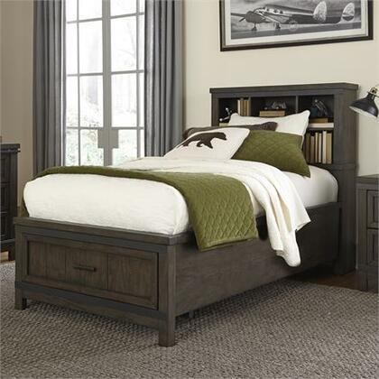 Liberty Furniture Thornwood Hills 759YBRTBB Bed Gray, Main view 1
