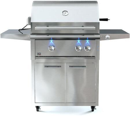 XO 1216960 Liquid Propane Grill Stainless Steel, 1